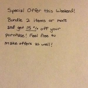 Other - Special Offer When you Bundle 2 Items or More